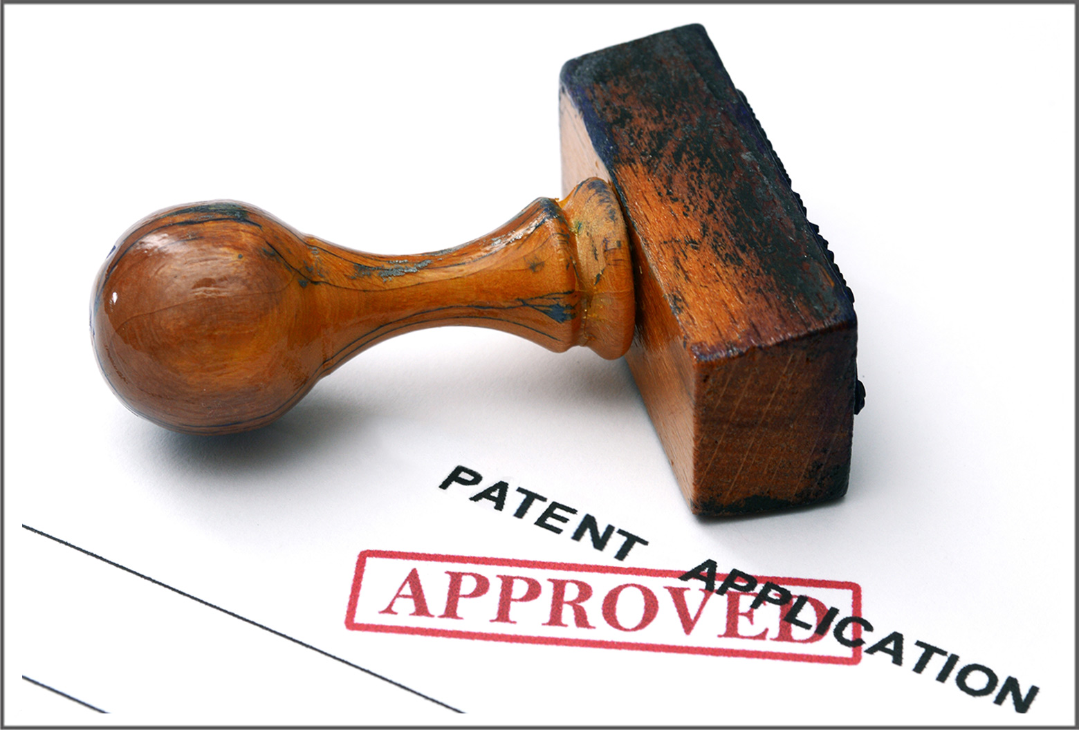 patent application stamp